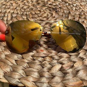 Marc Jacobs Polarized Aviator Sunglasses